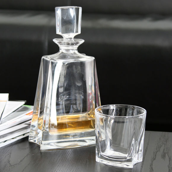 carafe whisky en cristal 0 5l bruno evrard. Black Bedroom Furniture Sets. Home Design Ideas