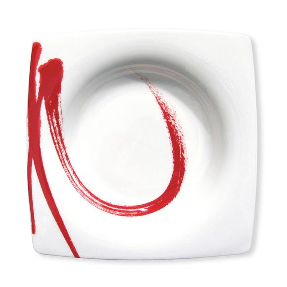 assiette creuse en porcelaine 22cm bruno evrard. Black Bedroom Furniture Sets. Home Design Ideas